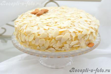 пирожное миндальное рецепт с фото