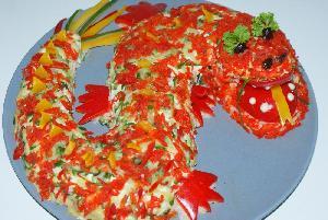 Салат зуб дракона рецепт с