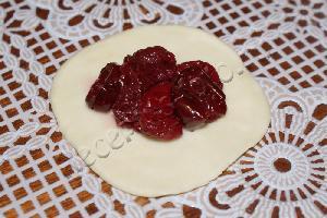 Паровые вареники с вишней, пошаговый рецепт с фото